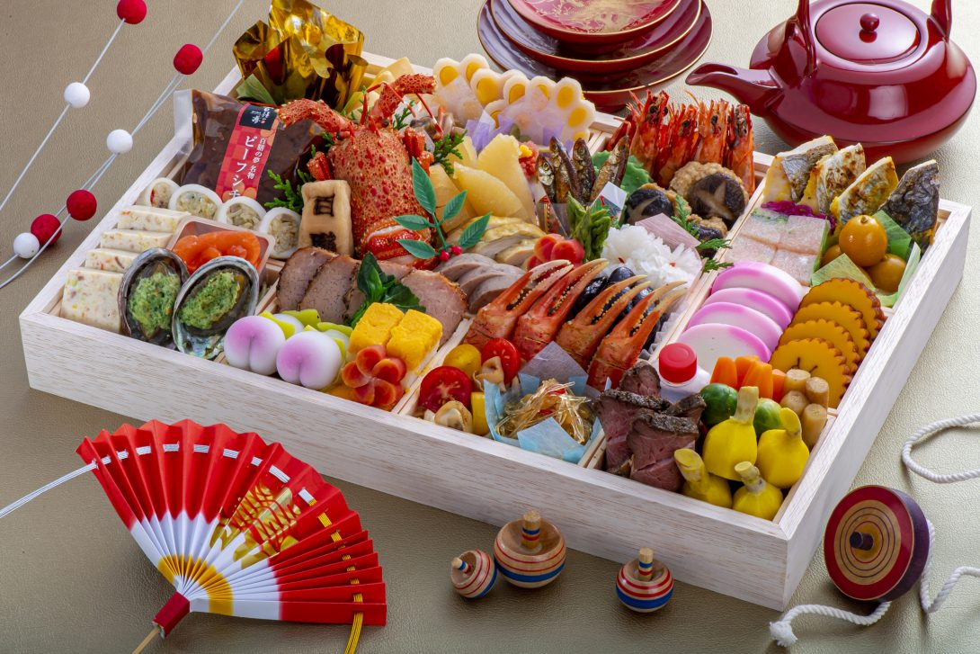 お正月料理(3~4人前)17,000円(税込)